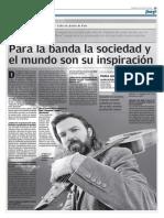 Entrevista Jarabe de Palo