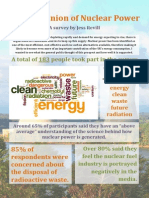 Public Opinion of Nuclear Power Results Summary