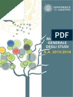 Manifesto Degli Studi 2014