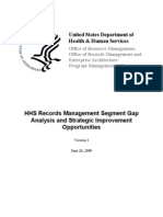 Hhs Rm Segment Gap Analysis and Strategic Improvement