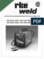 WE6523-6524 Manual