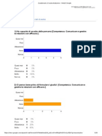 Questionario Di Autovalutazione Docenti - Moduli Google