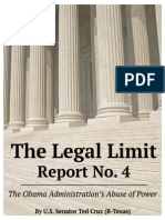 Ted Cruz: Legal Limit Report 4