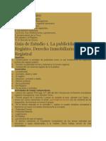 Plan Tematico Derecho Registral