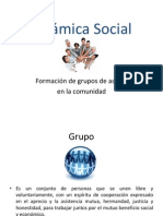 Formación de Grupos