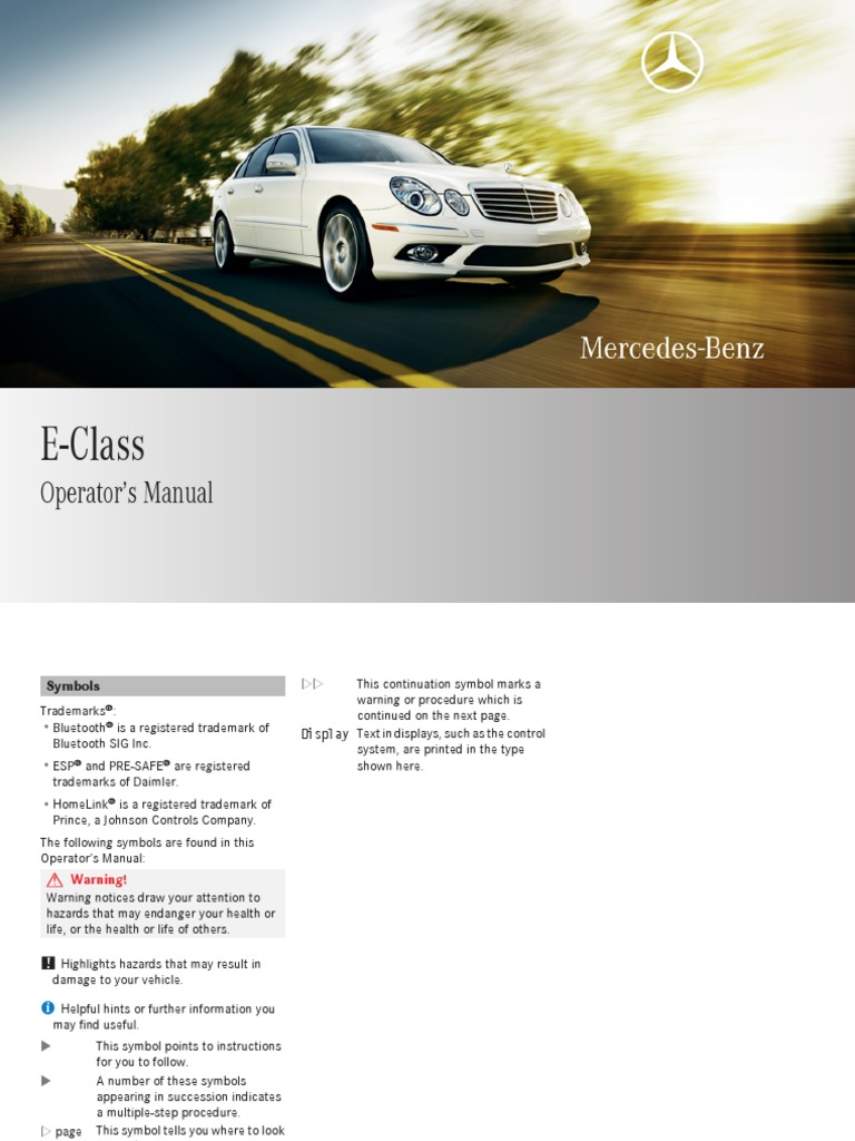 Mercedes-Benz E-Class: Unfolding the skibag and loading skis