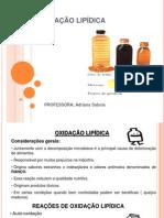 Oxidação Lipídica