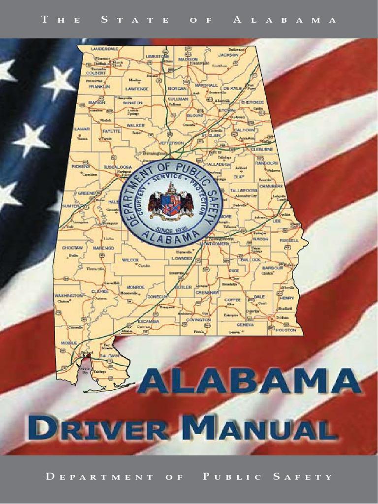 Alabama Drivers Manual 2012 | Driver's License | Identity ...