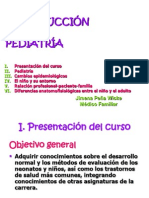 1. Introduccion a La Pediatria
