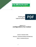 Configuration d'Un Routeur