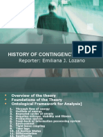 08 - History of Contingency Theory