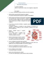Sistema Circulatório - Questões Resolvidas