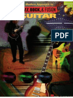 A Modern Approach to Jazz Rock and Fusion for Guitar