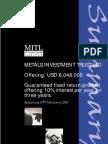 MITL Loan Stock Summary Document