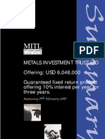 MITL Loan Stock Summary Document