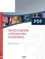Praticas de Anatomia e Histologia Para a Educacao Basica