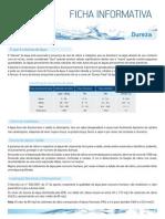 Ficha Informativa - Dureza