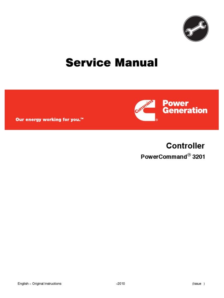 service manual pcc 3201 electric generator switch rh es scribd com 5.9 Cummins Manual Instruction Manual Cummins