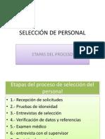 Selecciën de Personal