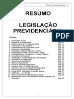 RESUMO_DIREITO PREVIDÊNCIÁRIO