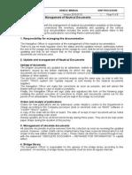 Bridge-050-Management of Nautical Documents