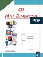 Informe - 4D