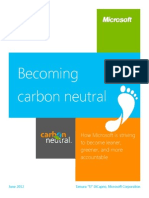 Microsoft_Becoming Carbon Neutral