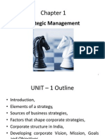 Unit 1 Strategic Management