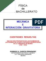 4.Mecanica y Gravitacion. Cuestiones Resueltas