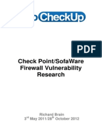 Checkpoint Sofaware Release Web
