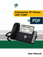 Yealink Executive IP Phone SIP-T28P User Manual V1.4.1(20090821)