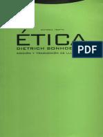 Bonhoeffer, d. - Etica - Trotta 2000