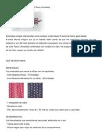 TUTORIAL Pulsera de Abalorios Rosa y Amatista