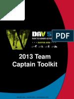 dav 5k team captain tool kit