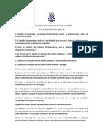 1 Lista de Exercicio Fotogrametria e Sensoriamento Remoto Suborbital