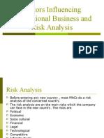 Factors Influencing IB