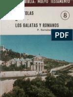 AHERN Padre Barnabas M Galatas y Romanos AFR ST Conoce La Biblia Nuevo Testamento 008