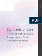 Standards of care for the health of transsexual transgender and gender nonconforming people