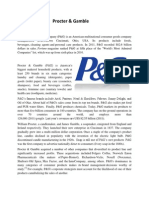 P & G report