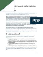 Autenticación Basada en Formularios IIS