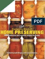 Home Preserves