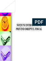 Curs Nr. 1 (Introducere in Dreptul Fiscal)