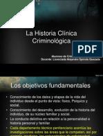 La Historia Clínica Criminológica