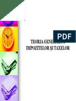 Curs Nr. 2 (Teoria Taxelor Si Impozitelor)