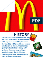 marketing mix mcdonalds case study