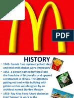 Marketing Research on McDonald's