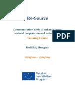 Infoletter - ReSource