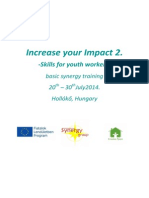 Infoletter - Increase Your Impact 2