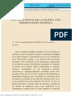 Doctrina Social de La Iglesia - Una Presentación Sinóptica