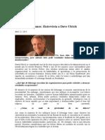Entrevista a Dave Ulrich Sobre Liderazgo